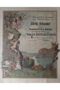Ehrenurkunde 1925